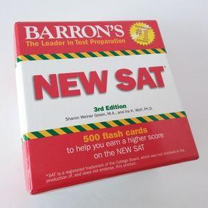Barron's | New SAT Test Preparation Flash Cards